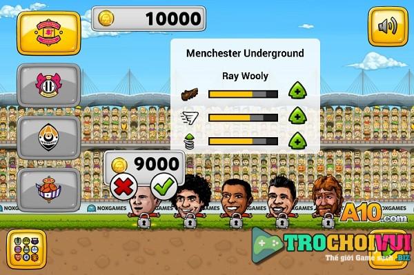 game Bong da Puppet soccer champions