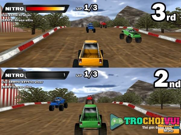 game Dua xe dia hinh 2 nguoi online offline cho pc