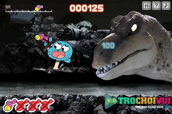 game Gumball giai cuu Daisy online