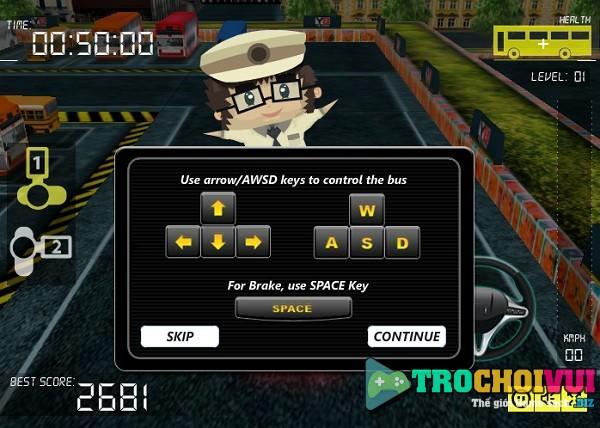 game Lai xe khach 3D giuong nam cao cap