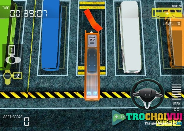 game Lai xe khach 3D phuong trang y8