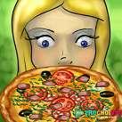 Làm bánh pizza tặng chồng