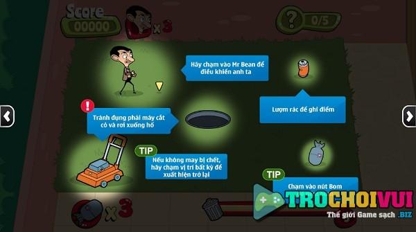 game Mr Bean nhat rac hinh anh 1