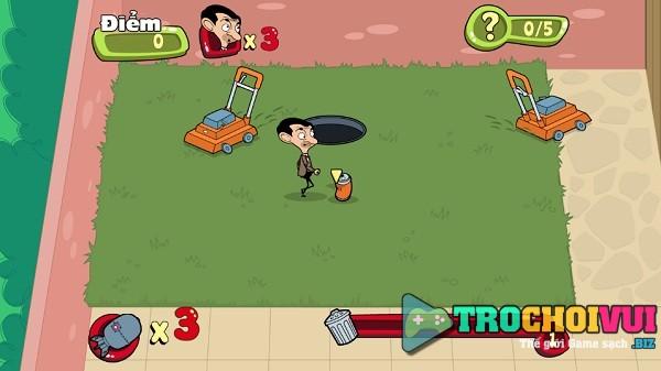 game Mr Bean nhat rac hinh anh 2