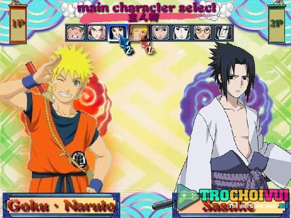 game Naruto quyet dau 2 nguoi choi