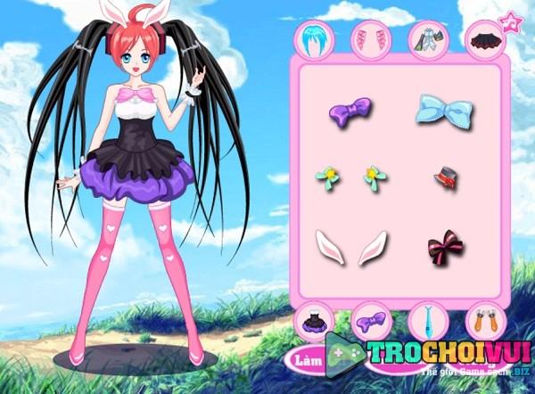 game Thoi trang Hatsune Miku hinh anh 2