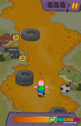 game Clarence cu nhay phi thuong online