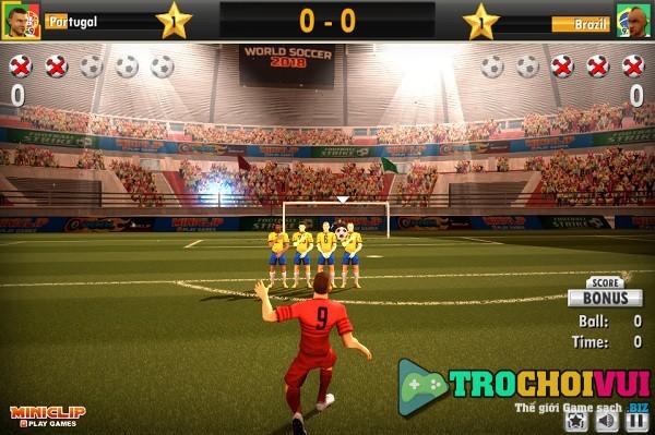 game Vo dich World cup 2018 online offline