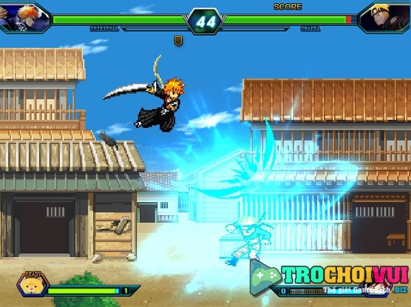 game Bleach vs Naruto 3.2 online moi nhat