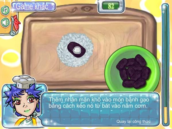 game Lam banh gao cay mien phi 24h y8