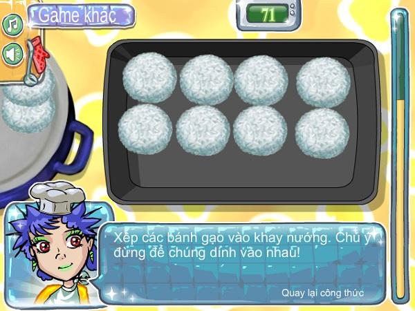 game Lam banh gao cay nhat ban