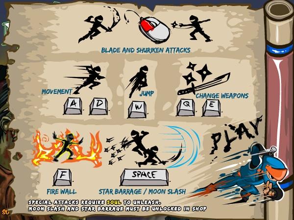 game Ninja vs Zombies 2 hinh anh 1