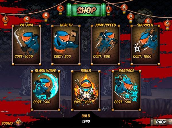 game Ninja vs Zombies 2 hinh anh 3