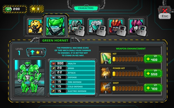game Robot ban sung mien phi