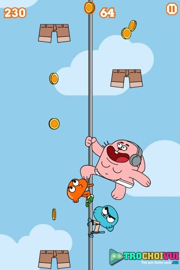 game Gumball leo cot hinh anh 2