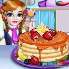 Làm bánh pancake