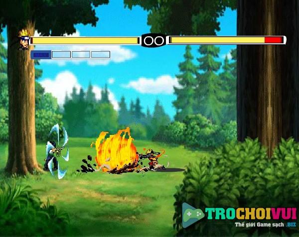 game Naruto luyen vo hinh anh 2