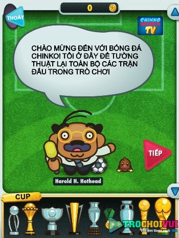 game Bong da Chinko hinh anh 1