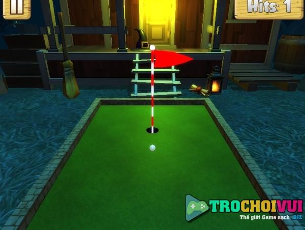 game Danh golf mini halloween 24h y8