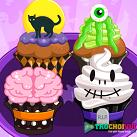 Làm bánh cupcake halloween