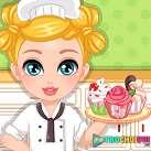 Làm bánh tặng mẹ