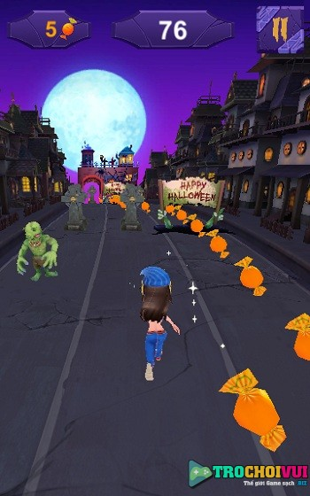 game Subway Surfers Halloween hinh anh 1