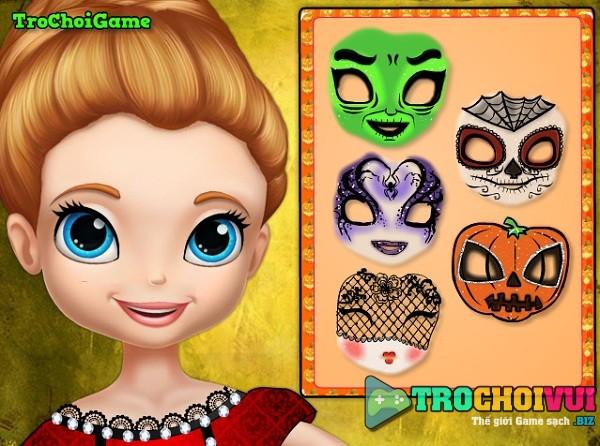 game Trang diem halloween Sofia hinh anh 1