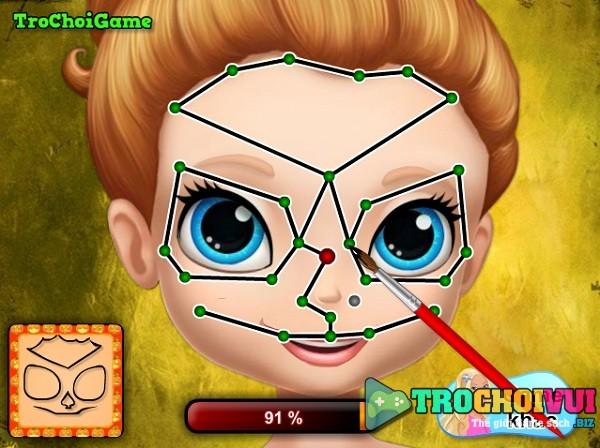 game Trang diem halloween Sofia hinh anh 2
