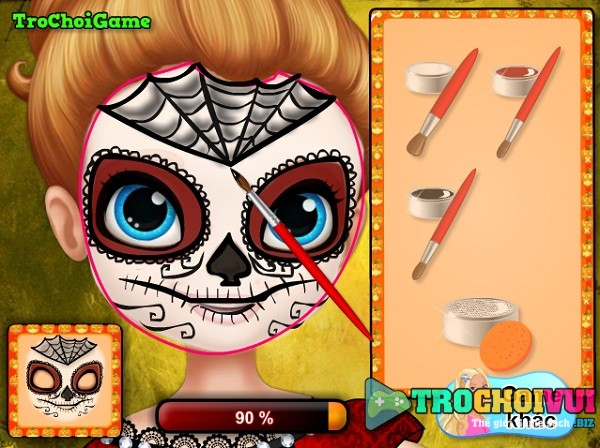 game Trang diem halloween Sofia hinh anh 3