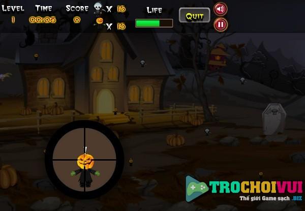 game Xa thu halloween hinh anh 2