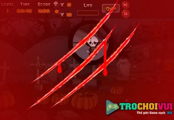 game Xa thu halloween hinh anh 3