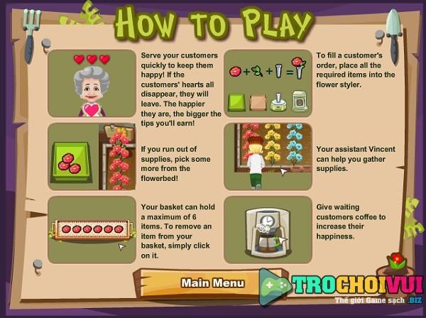 game Cua hang hoa tuoi 3 hinh anh 1