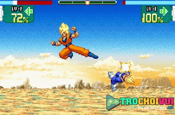 game Dragon Ball Z Supersonic Warriors hinh anh 2