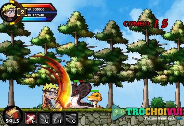 game Naruto phieu luu hinh anh 1