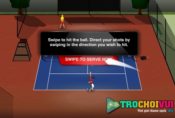 game Stick Tennis hinh anh 1