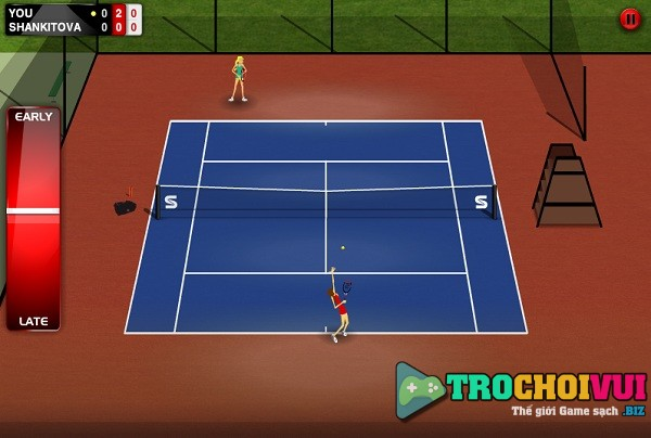 game Stick Tennis hinh anh 2