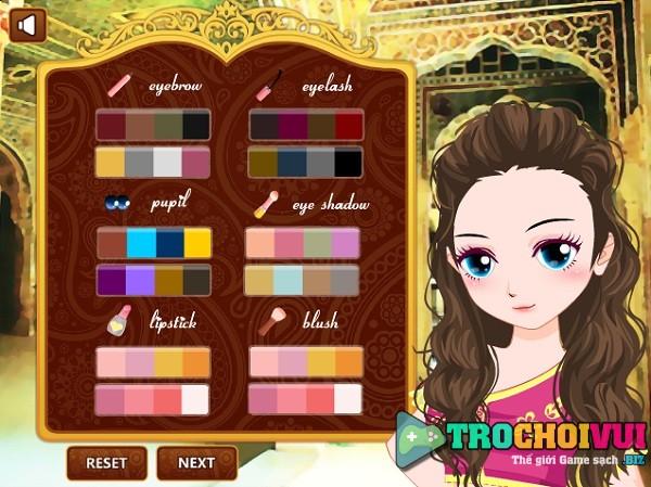 game Thoi trang cong chua An Do hinh anh 1
