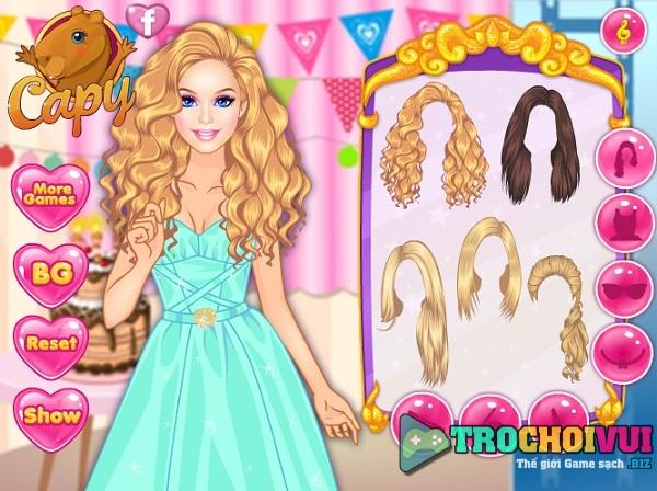 game Trang diem Barbie du tiec hinh anh 1