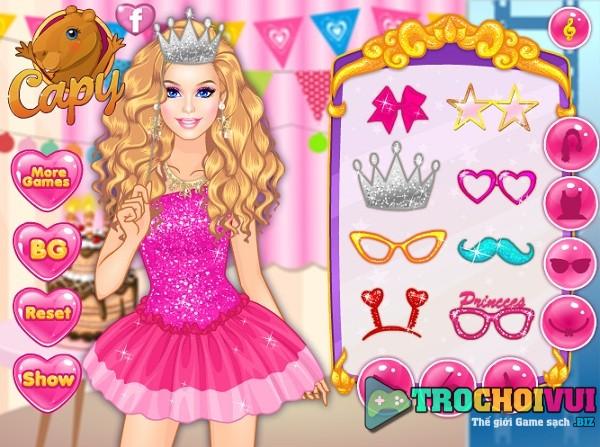 game Trang diem Barbie du tiec hinh anh 3