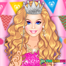 Trang điểm Barbie dự tiệc