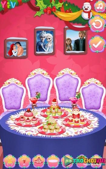 game Cong chua Disney du tiec giang sinh hinh anh 3