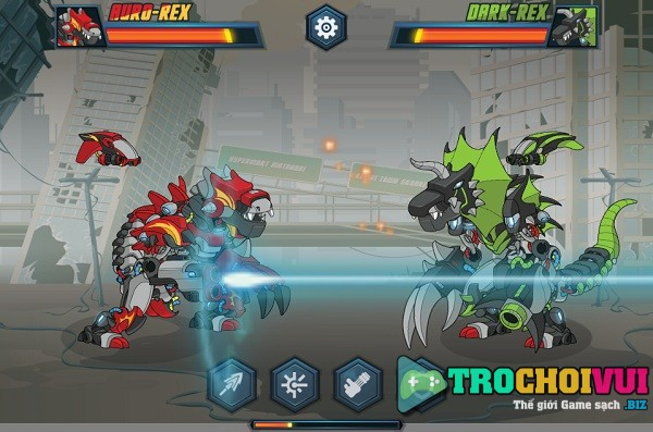 game Dau truong robot hinh anh 2