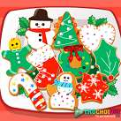 Làm bánh quy giáng sinh
