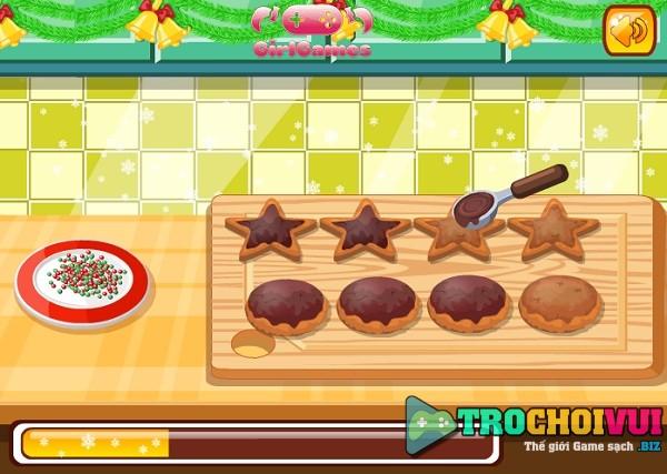 game Lam banh socola giang sinh hinh anh 3