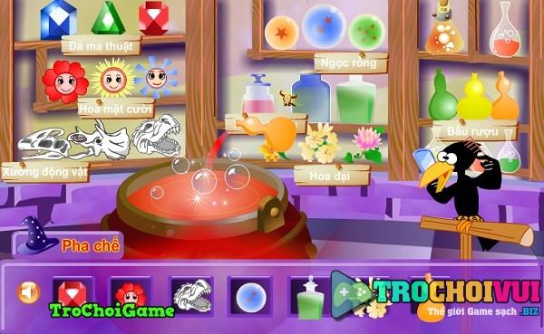 game Phu thuy hoa phep thanh cong chua