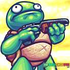 Tay súng ninja rùa