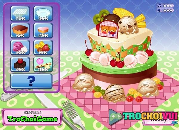 game Trang tri banh kem 24h y8