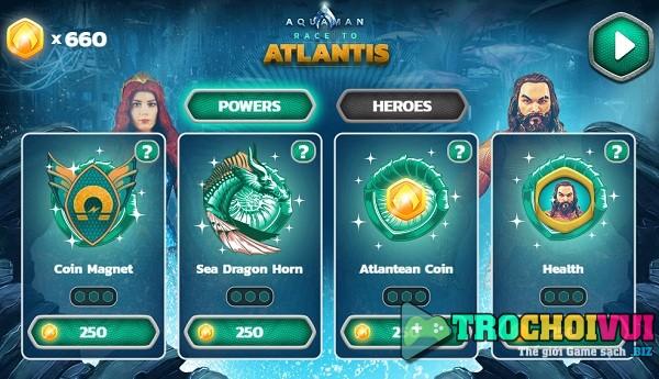 game Aquaman De vuong Atlantis 24h y8