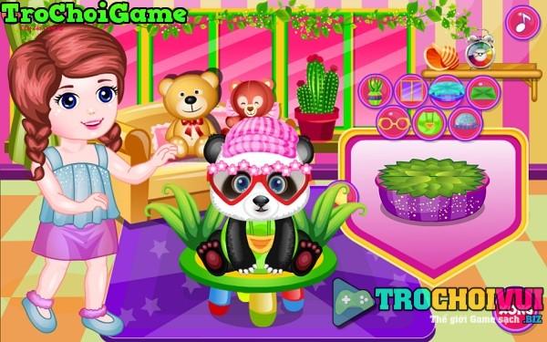 game Cham soc gau truc panda