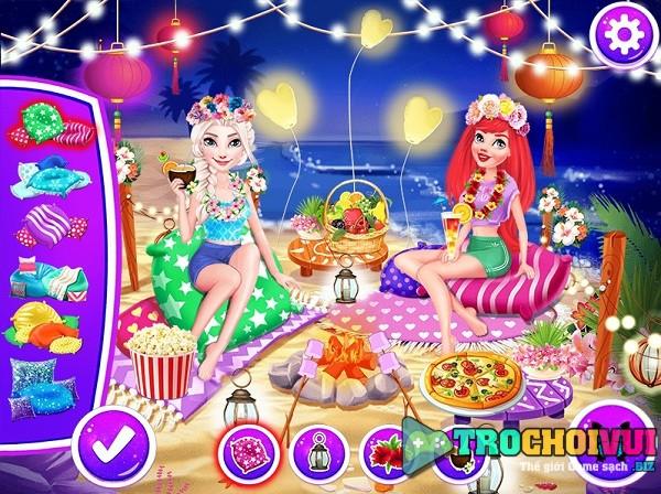 game Cong chua xem phao hoa hinh anh 3